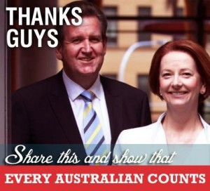 Julia Gillard and Barry O'Farrell